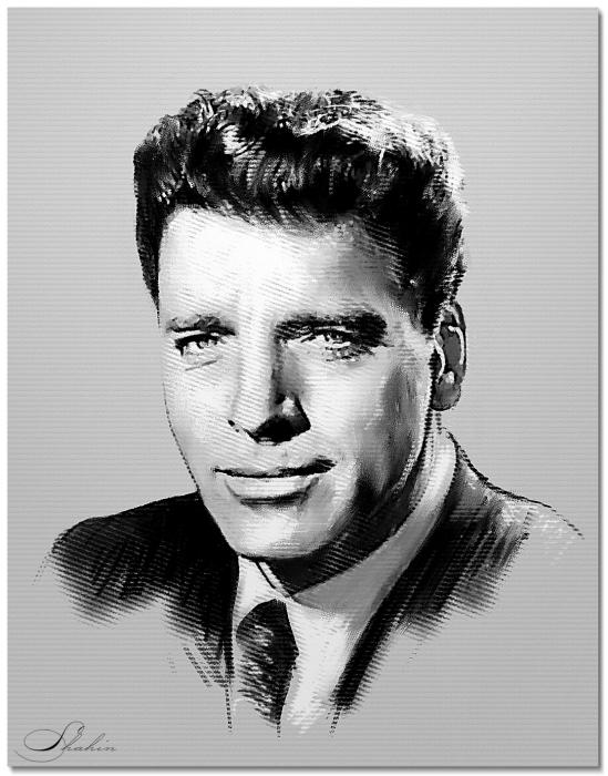Burt Lancaster by shahin